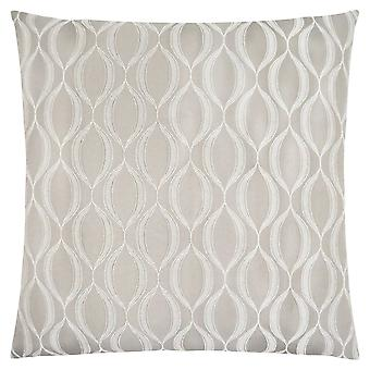 """18"""" x 18"""" Taupe, Wave Pattern - Pillow"""