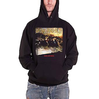 Bathory Blood Fire Death Album Cover Official Mens New Black Pullover Hoodie