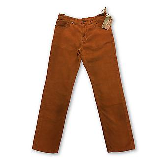 Tailor Vintage cord jeans in orange cotton