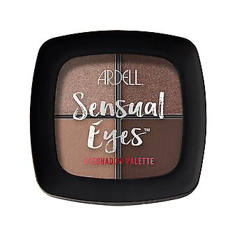 Ardell Beauty High Pigmented 4 Shade Sensual Eyeshadow Palette - Lets Live