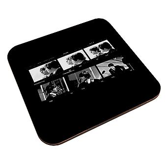 TV Times Beatles Lennon McCartney Photo Strip Coaster