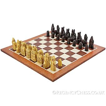 Isle Of Lewis Mahogany Chess Set