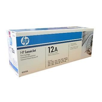 Original Toner Hewlett Packard Q2612A Black