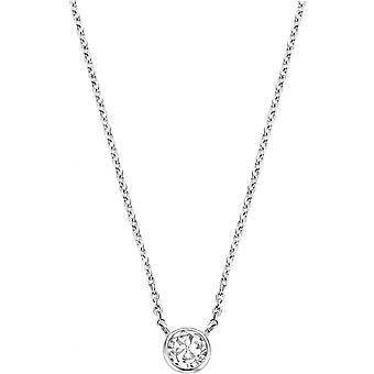 Necklace and pendant Ti Sento - necklace and pendant silver white woman 3845ZI-42