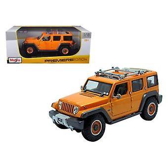 Jeep Rescue Concept Orange 1/18 Diecast Model Car par Maisto