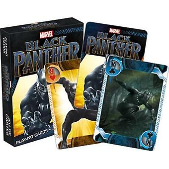 Marvel - black panther movie playing cards