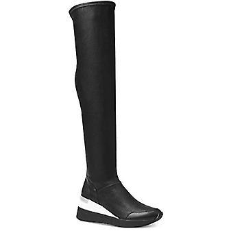 Michael Kors Women's Ace Stretch Boots Taille 7 Noir