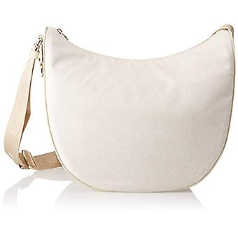Bourbon97777296 Women's Ivory Shoulder Bag 35x38x15 cm (W x H x L)