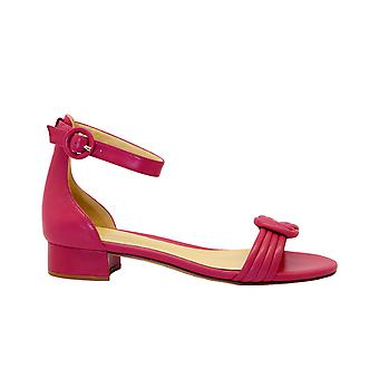 Alexandre Birman Vicky30popsicle Women's Red Leather Sandaler