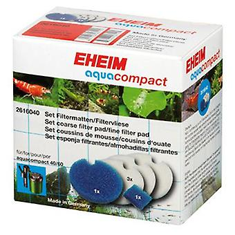 Eheim 2616040 Set Sponge Aqua Compact (Fische , Filter und Pumpen , Filtermaterial)