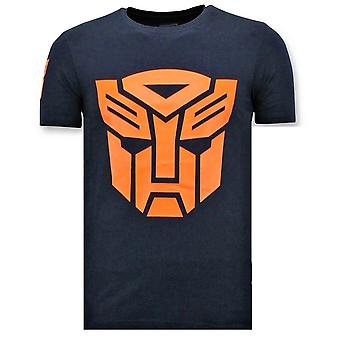 T-paita - Transformers Print - Sininen