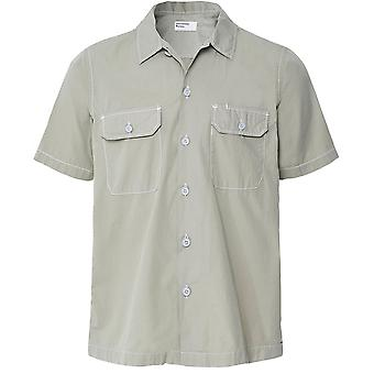 Universal Works Poplin Cotton Short Sleeve Utility Shirt