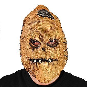 Scream Machine Unisex Adults Evil Scarecrow Halloween Mask