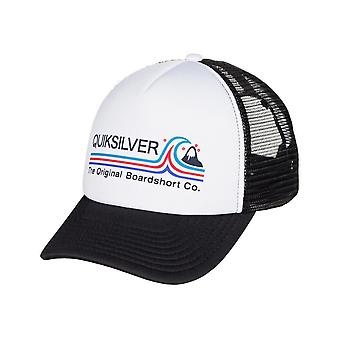 Quiksilver Standards Trucker Cap in White