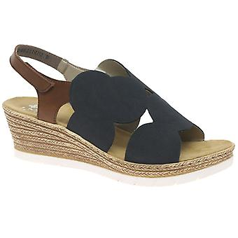 Rieker Ambient Womens Wedge Sandals