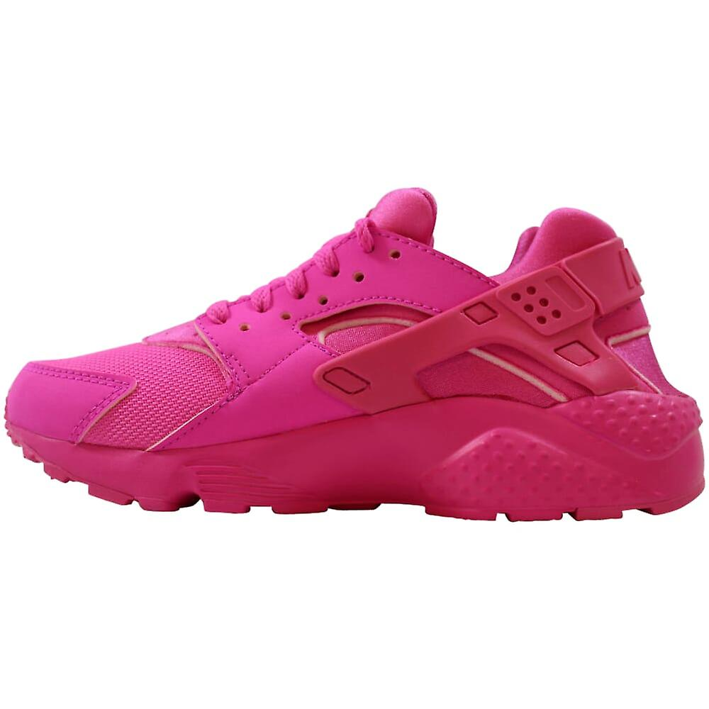 Nike Huarache Run Laser Fuchsia 654275-607 Grade-school