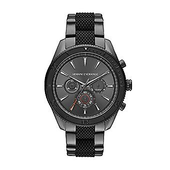 Armani Exchange Mens Quartz Analog Watch with stainless steel band AX1816