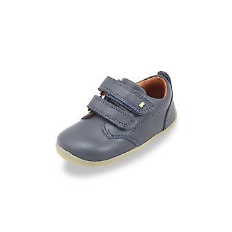 Bobux step up port navy shoes