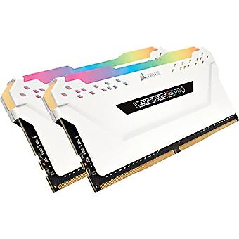 Corsair Vengeance RGB PRO 16 GB (2x8 GB) DDR4 3600MHz C18 XMP 2.0 RGB LED Led Illuminated Memory Kit Enthusiastic, White