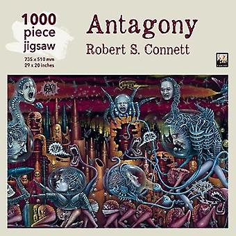Adult Jigsaw Puzzle Robert S Connett Antagony  1000piece Jigsaw Puzzles by Created by Flame Tree Studio