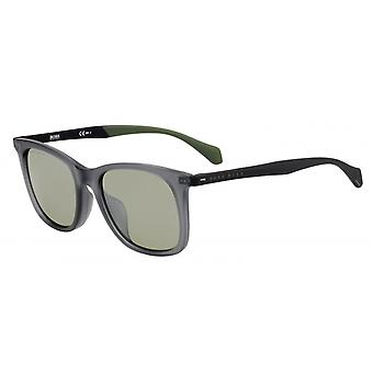 Sunglasses 1100/F/Sfll/El Men's matt grey/green