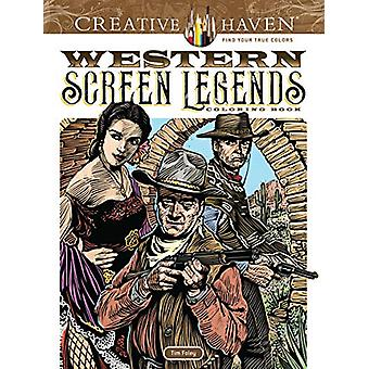 Creative Haven Western Screen Legends Coloring Book by Tim Foley - 97