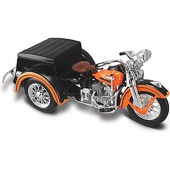 Maisto Harley Davidson 1947 Servi-Car Orange 1:18