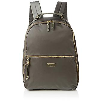 SAMSONITE Karissa Biz - Laptop Backpack 14.1' Zaino Casual - 41 cm - 17.5 liters - Verde (Gunmetal Green)