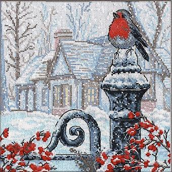 Oven Cross Stitch Kit - Christmas Morning