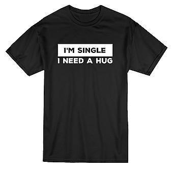 私は 1 つの抱擁のメンズ t シャツが必要