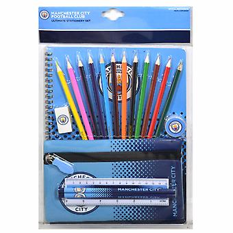 Manchester City FC Official Fade Ultimate Stationery Set