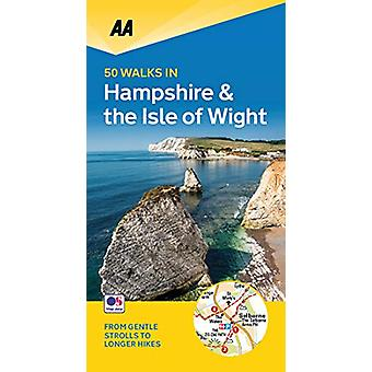 50 Walks in Hampshire & Isle of Wight - 9780749581190 Book