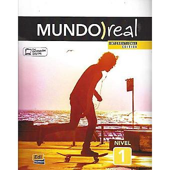 Mundo Real International Edition Nivel 1 - Student Book In Spanish wit