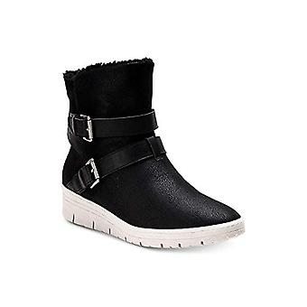 American Rag Women`s Katerina Almond Toe Ankle Cold Weather Boots (Black, Siz...