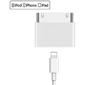8 - pin to 30 - pin Lightning adapter for iPhone, iPad..