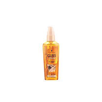 Schwarzkopf Gliss włosów Naprawa olej Elixir 75 Ml Unisex