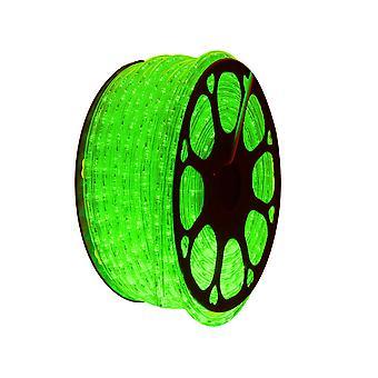 Jandei LED svetelná priadza na zelené dekorácie, 50m cievka, vonkajšia inštalácia, IP65 vodotesný, 220-240V s usmerňovačom, 0,5 m rez, Vianoce, party, udalosť
