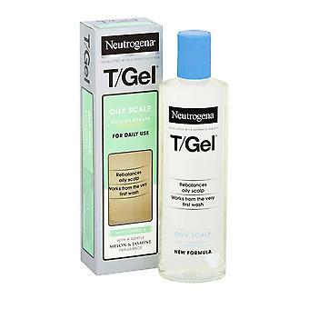 Neutrogena T Gel Anti Pellicules Shampooing 250ml Huileux Scalp Utilisation quotidienne Nouvelle Formule
