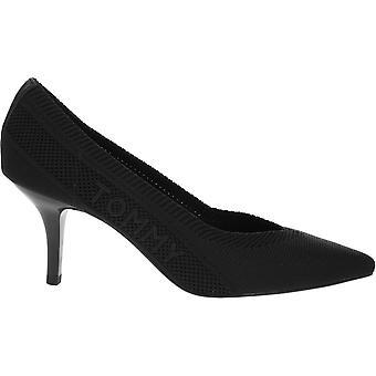 Tommy Hilfiger Tommy Knit Mid Heel Pump FW0FW04976BDS ellegant all year women shoes