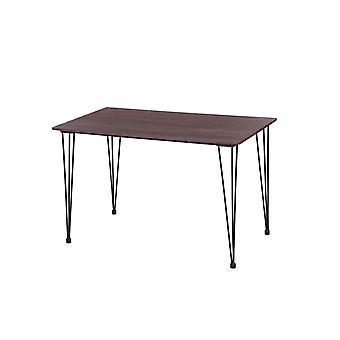 Phoenix Farbe Klavier Wenge schwarz Tisch, schwarzeholz Beine, Metall 120x70x75 cm