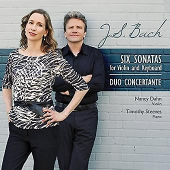 Duo Concertante - Bach J.S.: Six Sonatas for Violin & P [CD] USA import