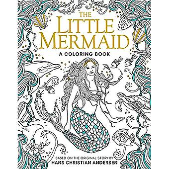 The Little Mermaid - A Coloring Book by Hans Christian Andersen - Edmu