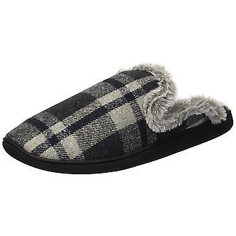 Dearfoams Womens Com 50913 gesloten teen Slip op Slippers