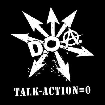 D.O.a. - Talk Minus Action Equals Zero [Vinyl] USA import