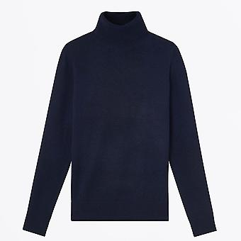 A.P.C.  - Sandra - Roll-Neck Sweater - Navy