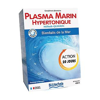 Hypertonic Marine Plasma 40 ampoules of 10ml