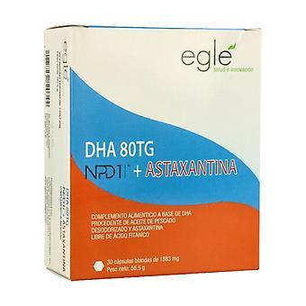DHA / NPD1 80TG Astaxanthin 30 capsules