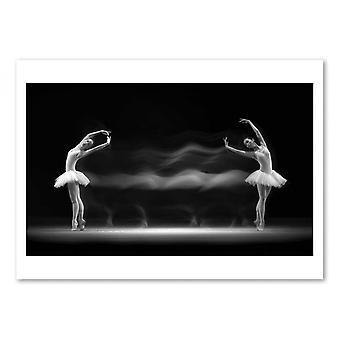 Art-Poster - Double Pose - Antonyus Bunjamin (Abe)