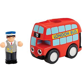 WOW Toys My First WOW Red Bus Basil