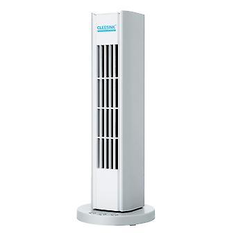Tower fan, USB vertical bladeless fan, silent cooling fan with Bluetooth audio, bedroom